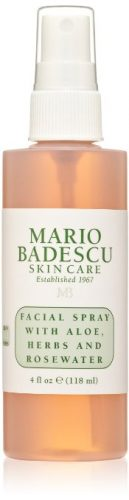 Bottle of Mario Badescu Facial Spray with Aloe Herbs and Rosewater