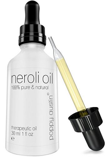 Bottle of neroli oil and dropper