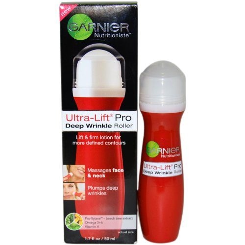 Image of Ultra-Lift Pro Deep Wrinkle Roller by Garnier and its box