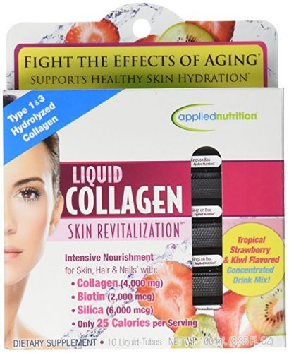 Box of liquid collagen from Applied Nutrition
